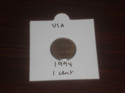 1994 USA 1 Cent coin United State of America one cents Lincoln American