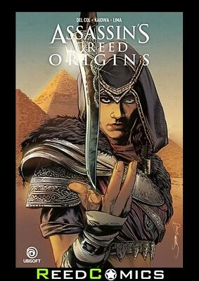 ASSASSINS CREED ORIGINS GRAPHIC NOVEL New Paperback Collects 4 Part Series