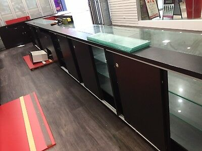 Glass  Shop Display Counter, Glass Cabinet, Display Case