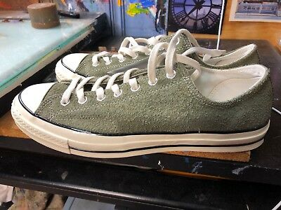 CONVERSE CHUCK TAYLOR All Star 70 OX Medium OliveEgret Suede US 11 Men 157588C