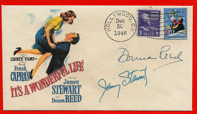 It's A Wonderful Life Xmas Movie Featured on Collector's Envelope *XS1373