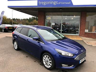 Ford Focus Titanium Navigator 1.6TDCi 120ps Estate 2015 (15 Plate) 35337 Miles