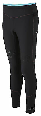 Ronhill Womens Trail Cyclone Tight - Size 12 - Black/Hawaii - RRP £60