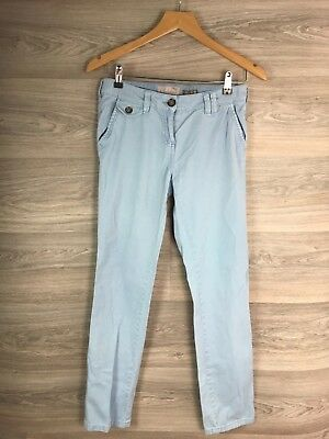 Next Washed Light Blue Skinny Jeans Chino Size 6 R 7778