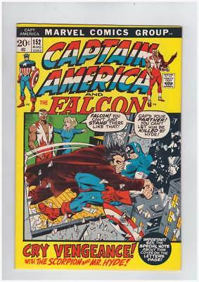 Captain America # 152  Cry Vengeance grade 8.5 scarce book !