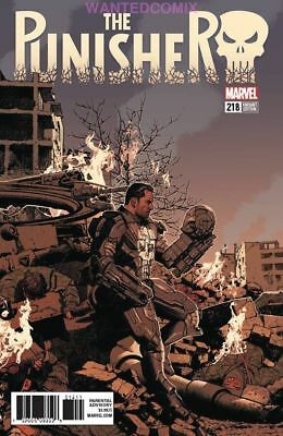 Punisher #218 Smallwood Variant Cover 1:25 Marvel Comic Book New 1 War Machine