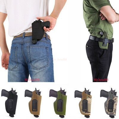 Concealed Belt Gun Holster Nylon IWB Holster for All Compact Subcompact Pistols