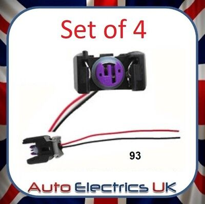 4X SEL INJECTOR Plug Electrical Connector Wire For Mercedes ... Sprinter Glow Plug Wire Harness on glow plug spark plug, glow plug controller, glow plug fuse, glow plug engines starting, 7.3 idi wiring harness, glow plug ignition switch, glow spark plug wires,