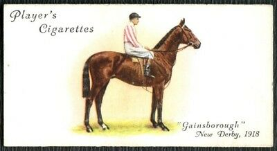 """Derby And Grand National Winners - """"Gasinsborough"""" #11 John Player Card (C1914)"""