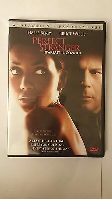 The Perfect Stranger Bruce Willis and Hallie Barry 2007 DVD Excellent condition