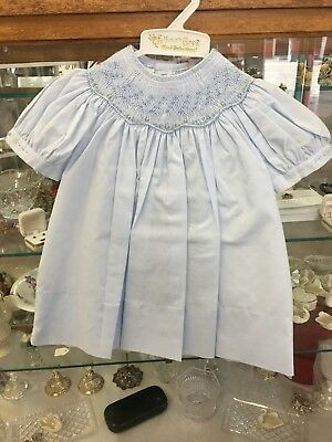 Feltman Brothers Hand Embroidered White Dress
