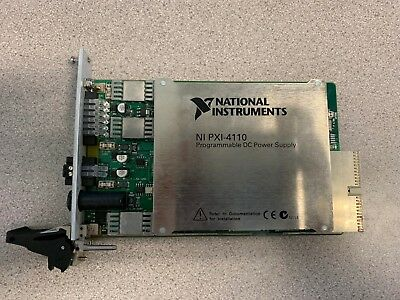 Ni National Instruments Pxi-4110 Dc Power Supply Used See Description