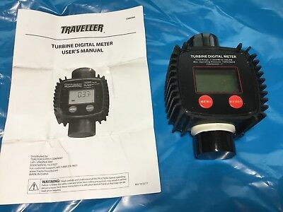 Traveller Turbine DEF Digital Flow Meter 1289390 - NEW!
