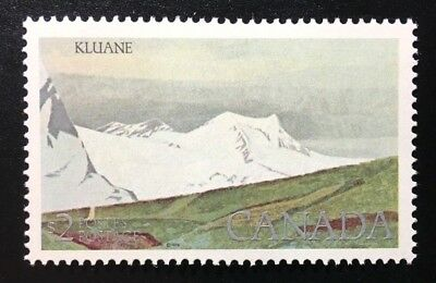 Canada #727iv CP MNH, Kluane National Park Definitive Stamp 1984