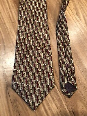 Jerry J. Garcia Men's Necktie Tie Lunch Collection Eight 100% Silk USA Made