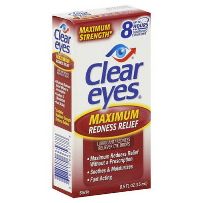 Clear Eyes Maximum Redness Relief 0.5 oz