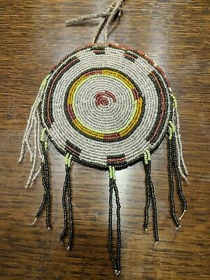 Antique Native American-Plains Indian Beaded Bag