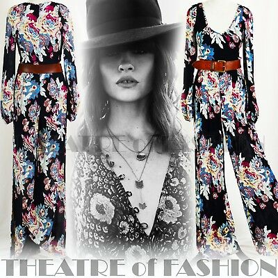 JUMPSUIT PLAYSUIT TROUSERS VINTAGE WEDDING 70s BOHO HIPPY-LUXE FESTIVAL GODDESS