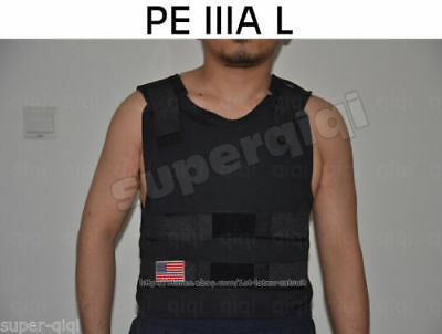 New XXXL IIIA Plate Carrier Body Armor Bullet Proof Vest Made with DuPont Kevlar
