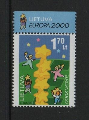 "Lithuania 2000 Europa (""building Europe"") *vf Mnh*"