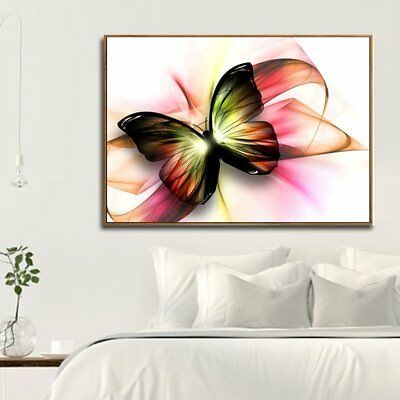 DIY Embroidery Diamond Painting Charming Butterfly Cross Stitch Pictu ES