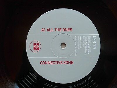 Techno EP aus UK 2002  - Connective Zone / All the ones - unplayed in Mint