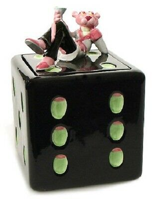 Pink Panther Dice Collectable Cookie Jar