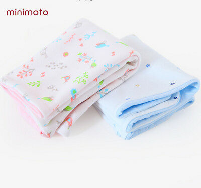 minimoto Baby Infant Combed Cotton Pillowcase Newborn Pillow Cover Breathable