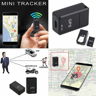 GF07 Mini GPS Real Time Car Locator  Magnetic GSM/GPRS Tracking Device