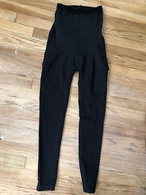 Spanx By Assests Black Maternity Leggings Size L