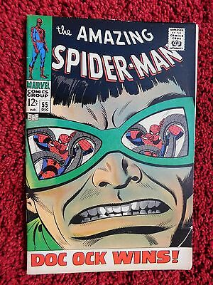 The Amazing Spider-Man #55 – Doc Ock Wins! – Uk  Pence Copy