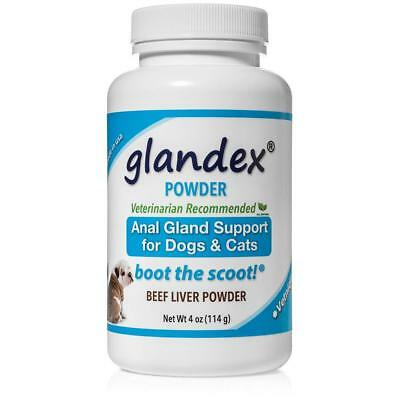 Glandex Powder for Dogs & Cats – With Fiber, Pumpkin, Digestive Enzymes &...