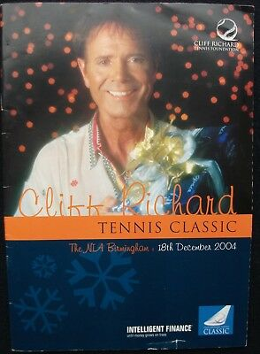 Cliff Richard Tennis 2004 Birmingham – Christmas Pro/celebrity Programme