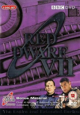 Red Dwarf Series 7 (BBC) Chris Barrie, Craig Charles - NEW Region 2 DVD