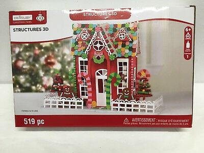 Fine Creatology Large Gingerbread House 3D Structure Foam Kit Craft Foamies New Download Free Architecture Designs Rallybritishbridgeorg