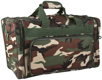 Camo Camouflage Large Duffle Bag Duffel Carry On Luggage Gym Sports Travel c9c5419b79e29