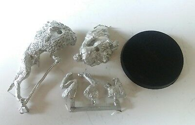 games workshop Lord of the rings metal wild warg chieftain