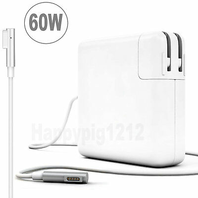 """60W L-Tip AC Adapter A1344 A1330 A1181 Charger for 13"""" Macbook Pro 2009-mid 2012"""
