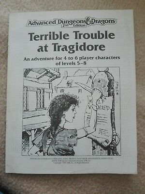 AD&D 2nd Edition – Terrible Trouble at Tragidore  Abenteuer Top