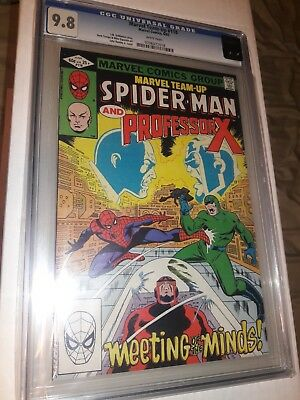 Marvel Team Up 118 Cgc 9.8 White Pages Spider-Man Professor X Marvel Comics