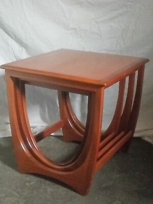 Immaculate Retro G Plan Astro Nest of 3 Tables Teak