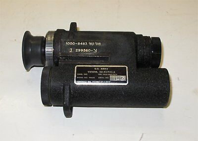 AN/PAS-6 Metascope Infrared Viewer: Very Good Condition