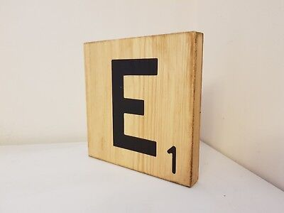 Large Single Scrabble Letters Tiles Wall Choice Of Letters