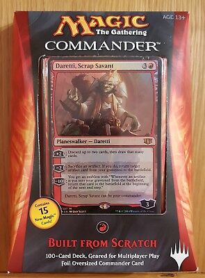 MTG Commander 2014 - Built from Scratch - Magic the Gathering English