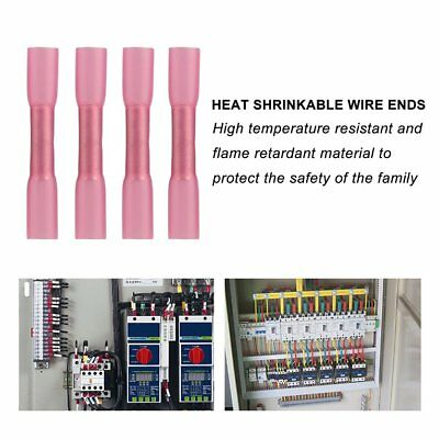 108PCS Heat Shrinkable Terminals With High Conductive Seamless Copper Termin ES