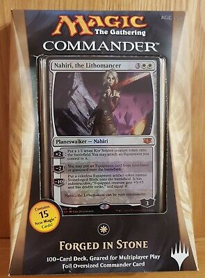 Magic the Gathering MTG 2014 Commander Deck - Forged In Stone
