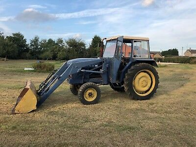leylamd 255 tractor with loader and cab no vat