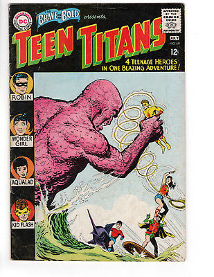 THE BRAVE AND THE BOLD #60 - Grade 5.0 - 2nd appearance of Teen Titans
