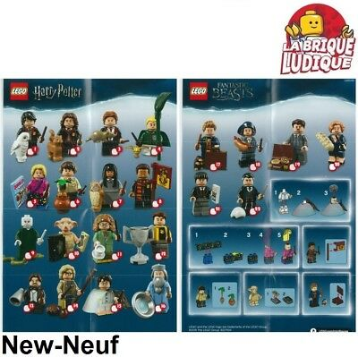 Lego figurine minifigure sachet série series Harry Potter au choix 71022 NEUF