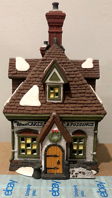 Dept 56 - Heritage Village Dickens - WM Wheat Cakes & Puddings- Christmas - 1993
